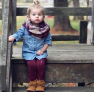 Cute kids fashions outfits for fall and winter 5