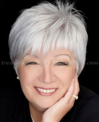 Fabulous over 50 short hairstyle ideas 1