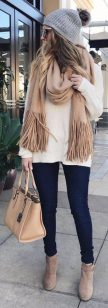 Fashionable scarves for winter outfits 102
