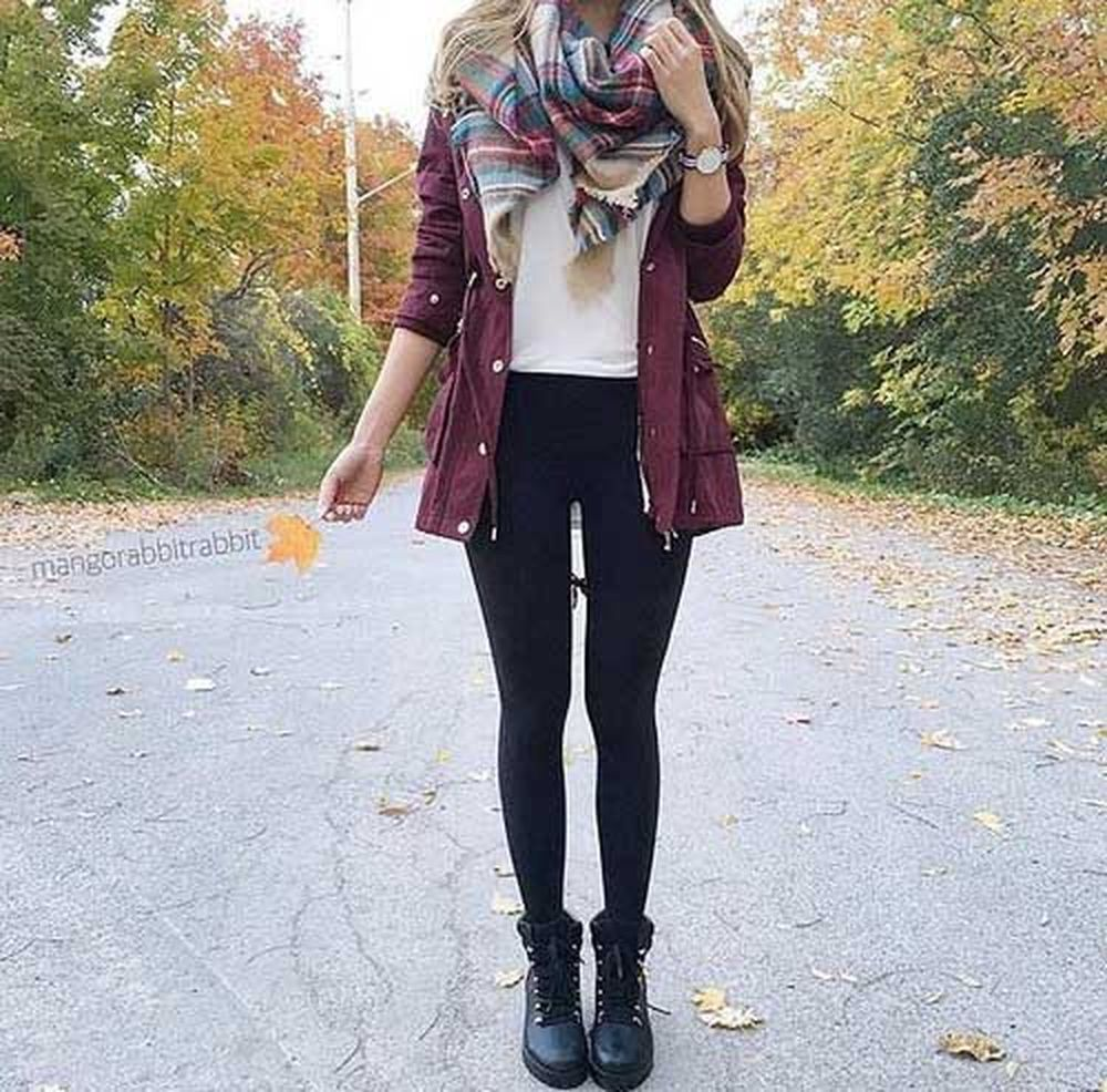 Fashionable scarves for winter outfits 67
