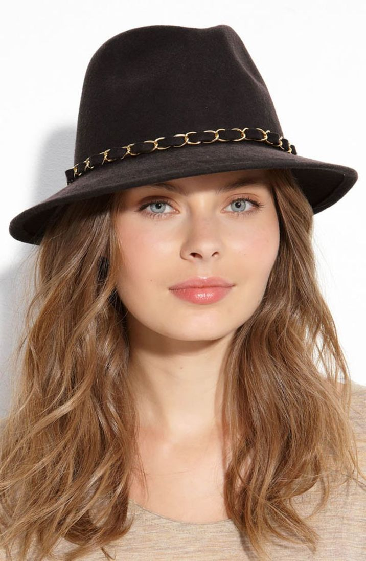 Fashionable women hats for winter and snow outfits 47