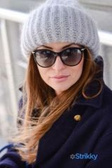 Fashionable women hats for winter and snow outfits 66