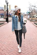 Fashionable women hats for winter and snow outfits 67
