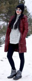 Fashionable women snow outfits for this winter 18