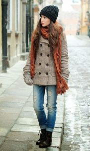 Fashionable women snow outfits for this winter 20