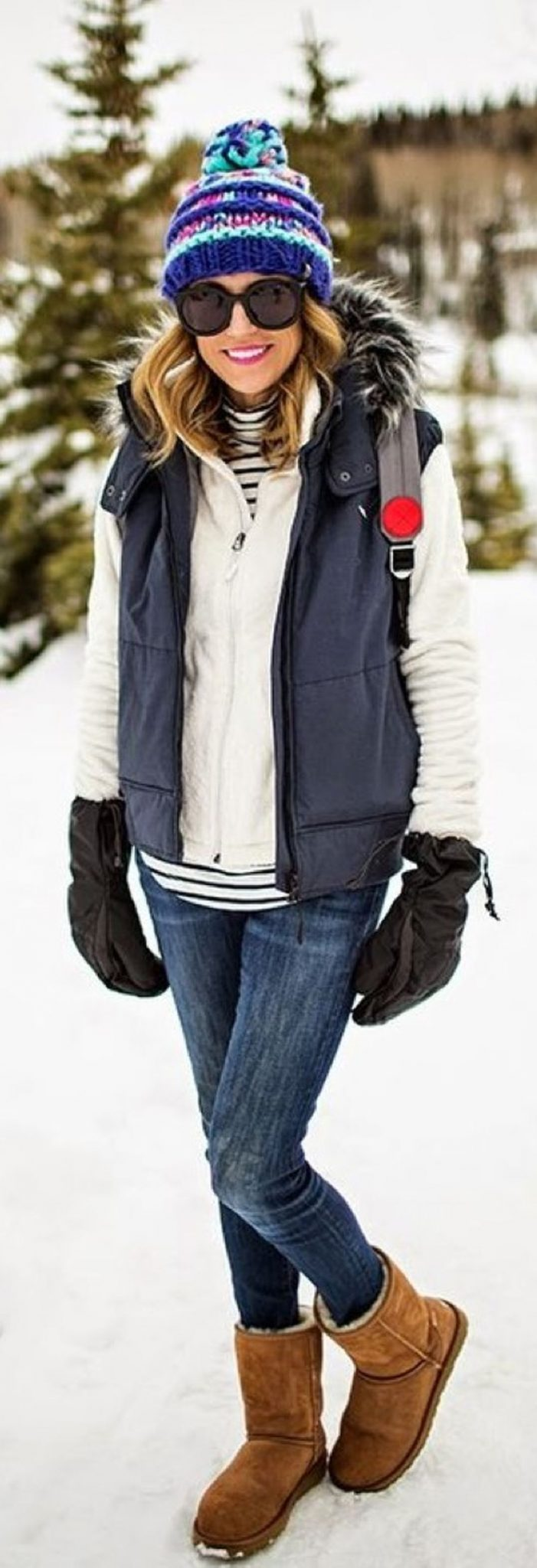 Fashionable women snow outfits for this winter 31