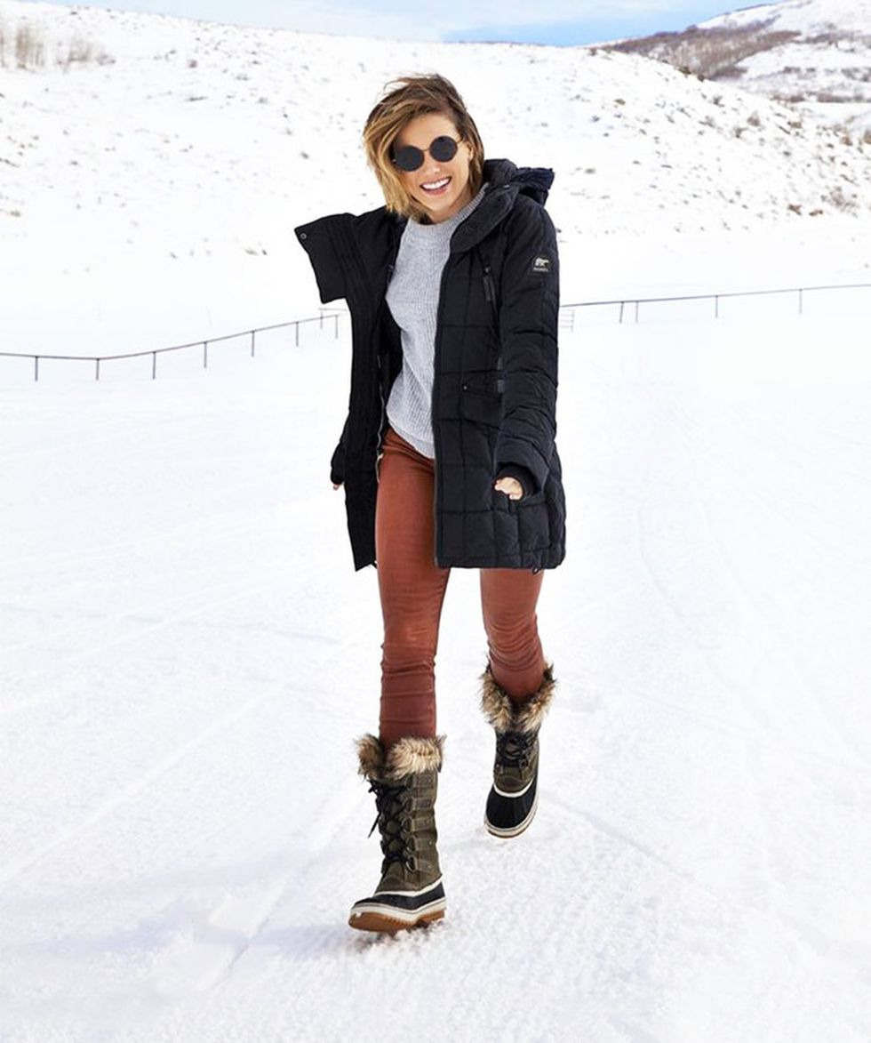 Fashionable women snow outfits for this winter 51