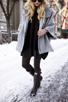 Fashionable women snow outfits for this winter 59