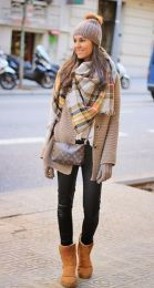 Fashionable women snow outfits for this winter 68