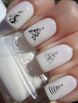 Gorgeous christmas nails ideas 104