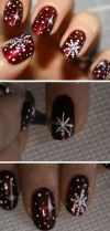 Gorgeous christmas nails ideas 115