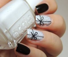 Gorgeous christmas nails ideas 32