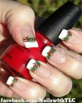 Gorgeous christmas nails ideas 33
