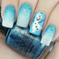 Gorgeous christmas nails ideas 63