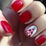 Gorgeous christmas nails ideas 7