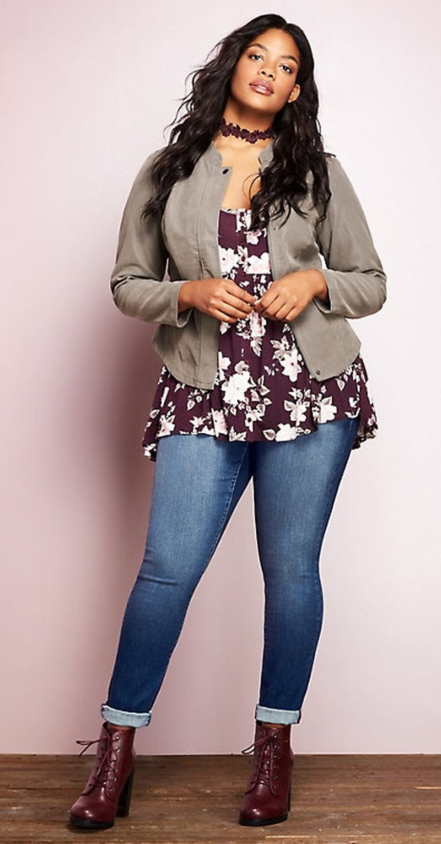 Inspiring winter outfits for plus size 13