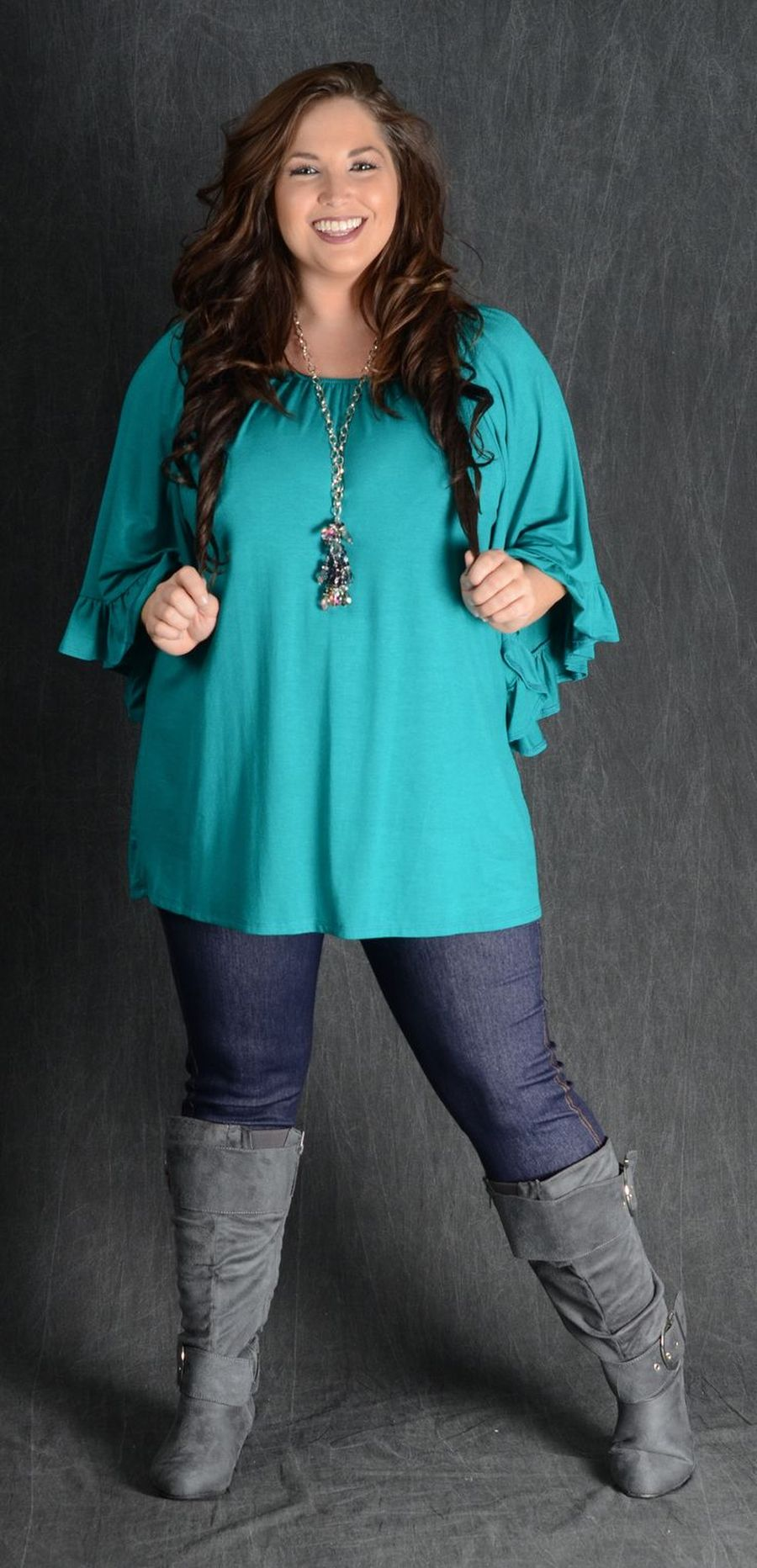 Inspiring winter outfits for plus size 38