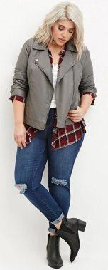 Inspiring winter outfits for plus size 4