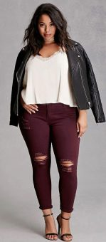 Inspiring winter outfits for plus size 42