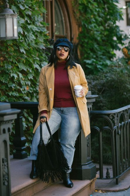 Inspiring winter outfits for plus size 67