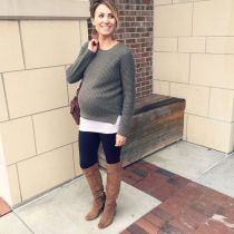 Maternity fashions outfits for fall and winter 12