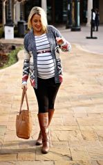Maternity fashions outfits for fall and winter 14