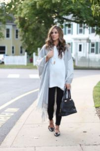 Maternity fashions outfits for fall and winter 15
