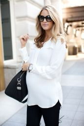 Maternity fashions outfits for fall and winter 26