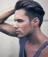 Men classy modern pompadour hairstyle 1