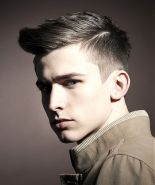 Men classy modern pompadour hairstyle 52