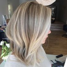 Stylish blonde lobs haircut ideas 27