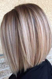 Stylish blonde lobs haircut ideas 30