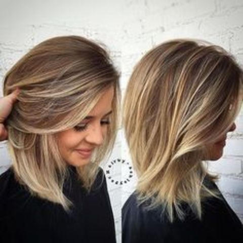 Stylish blonde lobs haircut ideas 41