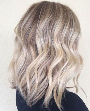 Stylish blonde lobs haircut ideas 52