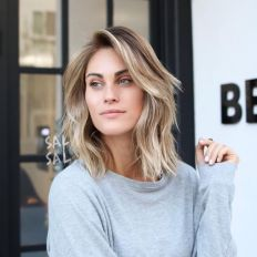 Stylish blonde lobs haircut ideas 65