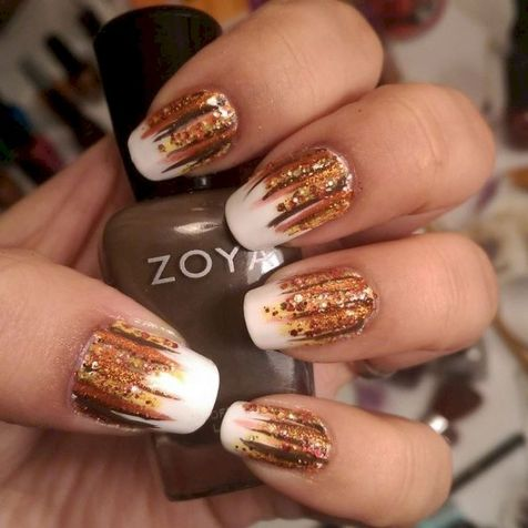 Swag thanksgiving nails art 10