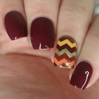 Swag thanksgiving nails art 16