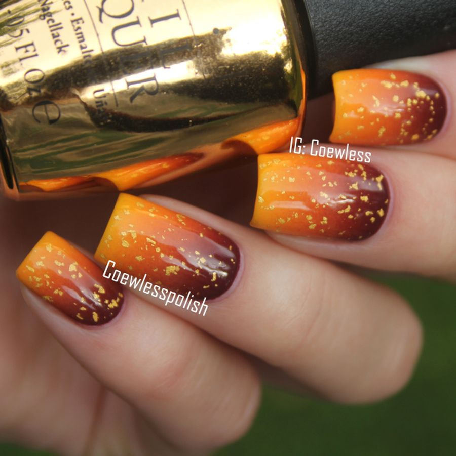 Swag thanksgiving nails art 28