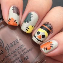 Swag thanksgiving nails art 3
