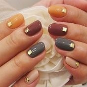 Swag thanksgiving nails art 9