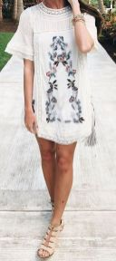 Boho dress for holiday and vacation outfits 34