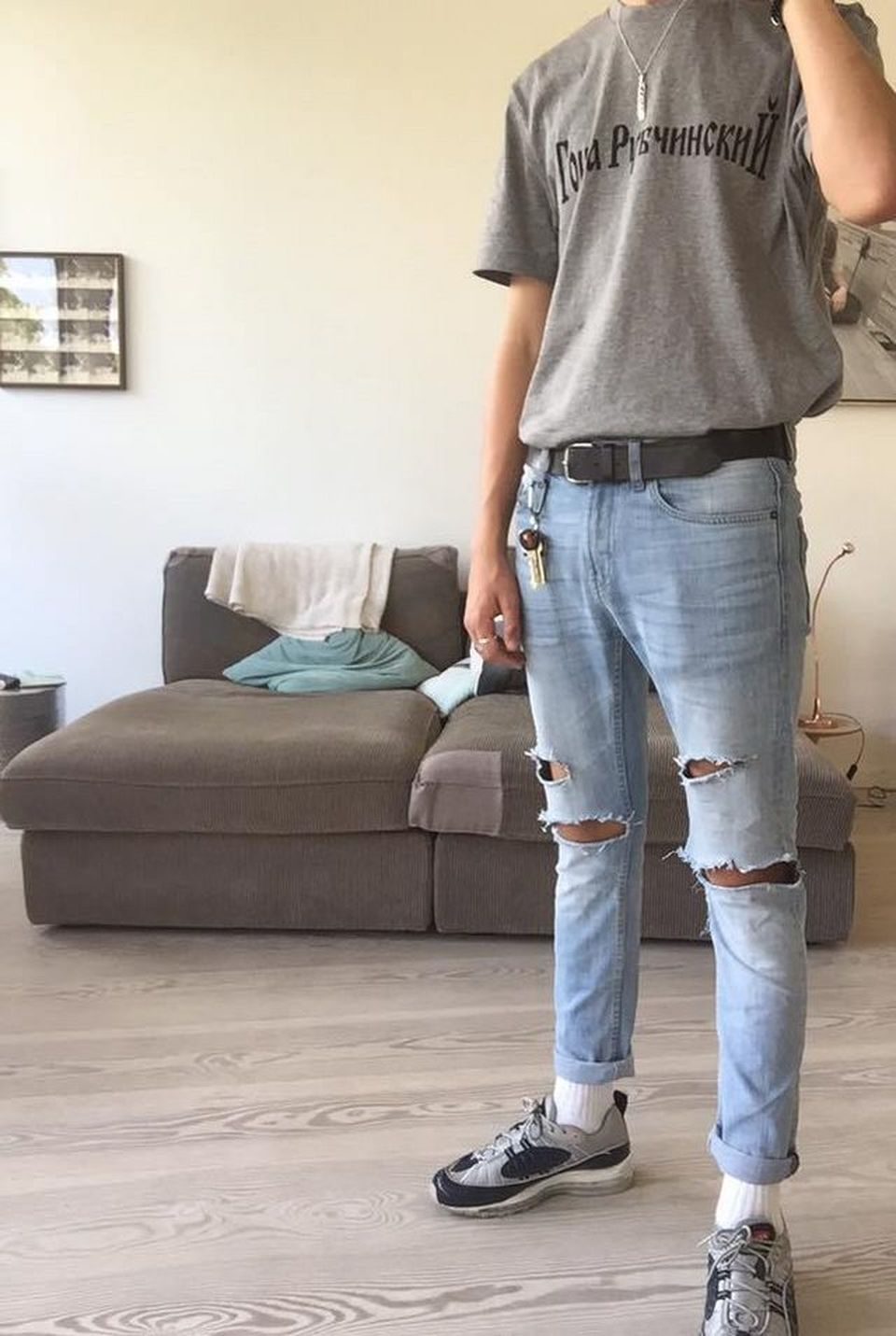 Casual indie mens fashion outfits style 20