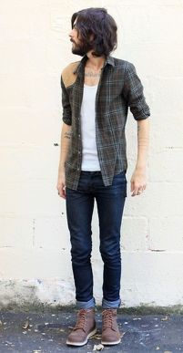 Casual indie mens fashion outfits style 36