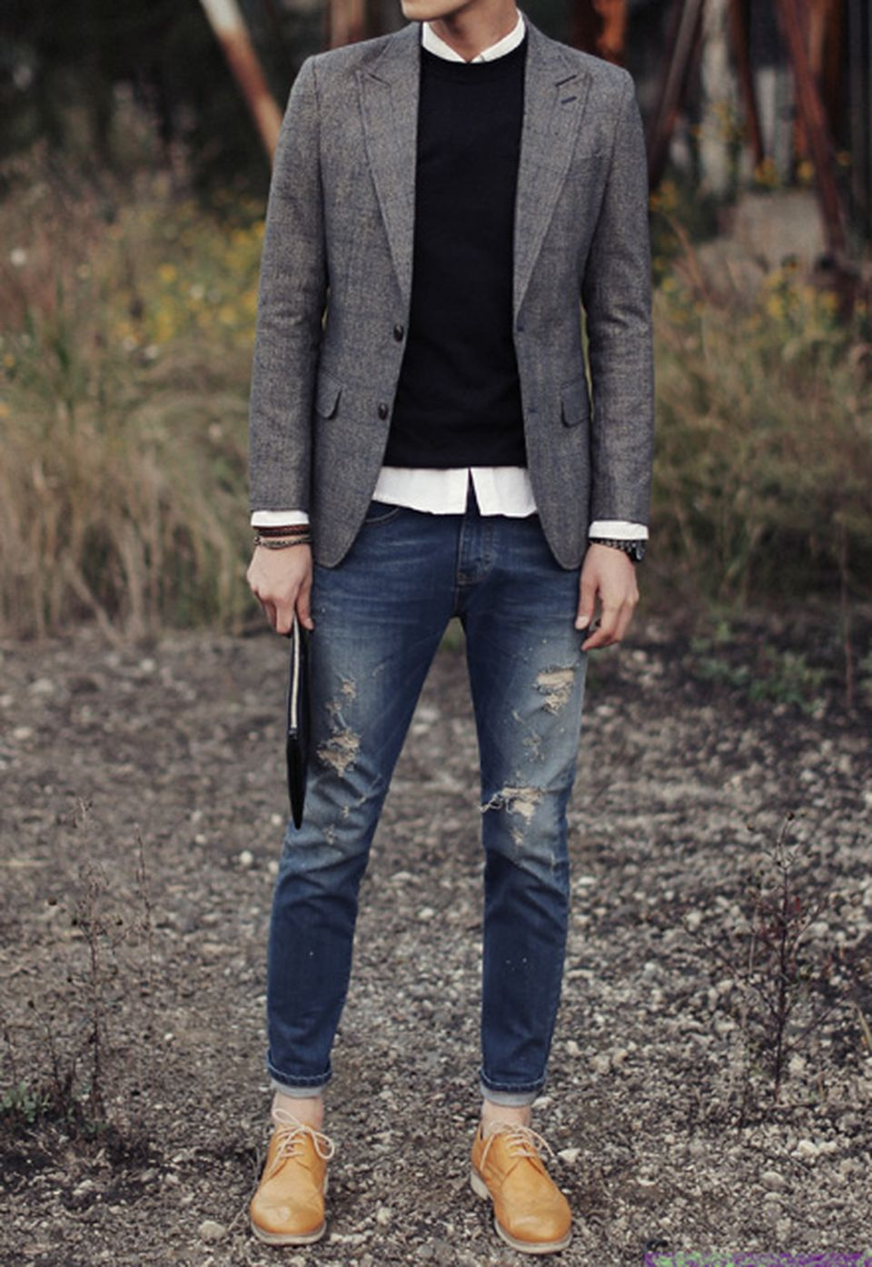 Casual indie mens fashion outfits style 43