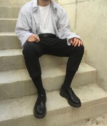 Casual indie mens fashion outfits style 45