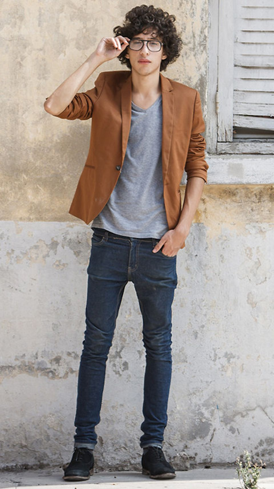 Casual indie mens fashion outfits style 48
