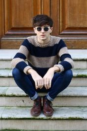 Casual indie mens fashion outfits style 55