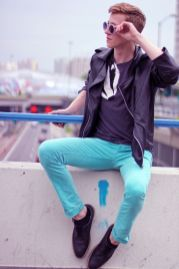 Casual indie mens fashion outfits style 60