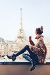 Fashionable oversized sweater for winter outfit 17