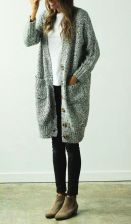 Fashionable oversized sweater for winter outfit 2